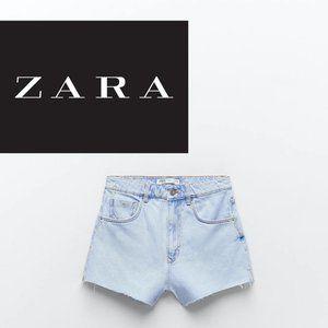 Zara Premium Wash Jean Shorts - Size 4